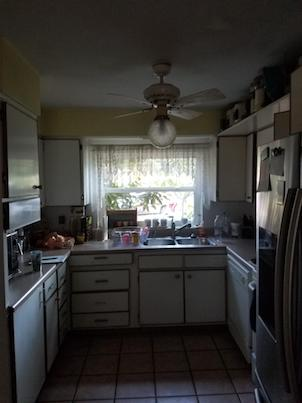 Full kitchen remodel before